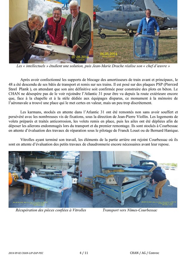[Associations anciens marins] C.H.A.N.-Nîmes (Conservatoire Historique de l'Aéronavale-Nîmes) - Page 2 Cham0014