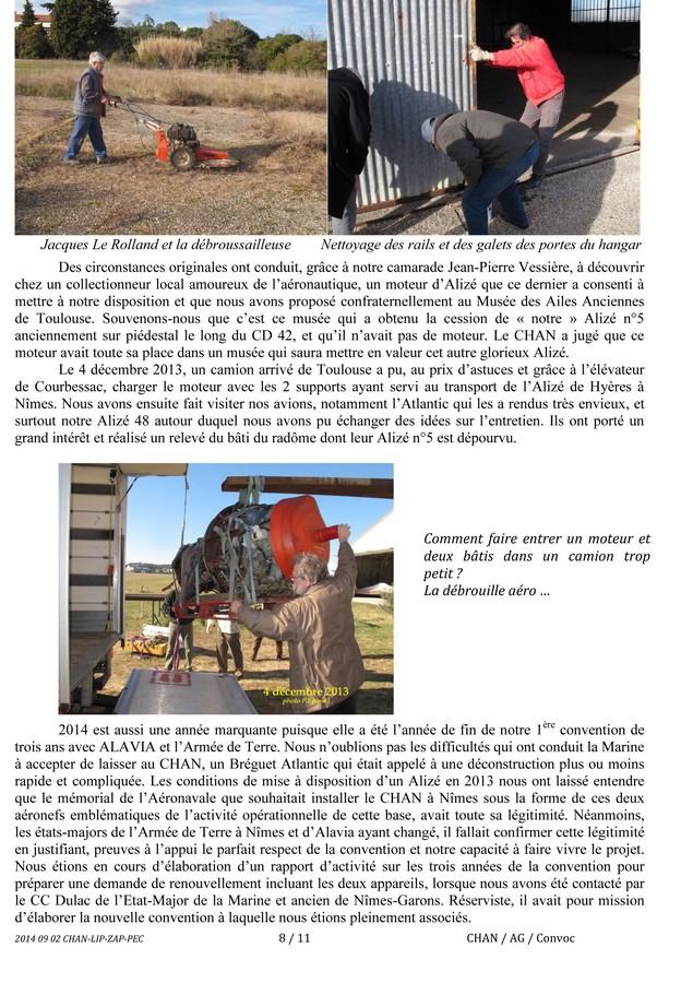 [Associations anciens marins] C.H.A.N.-Nîmes (Conservatoire Historique de l'Aéronavale-Nîmes) - Page 2 Cham0810