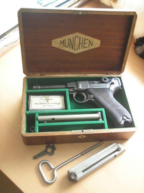 Coffret pour 3 armes... - Page 2 Luger510