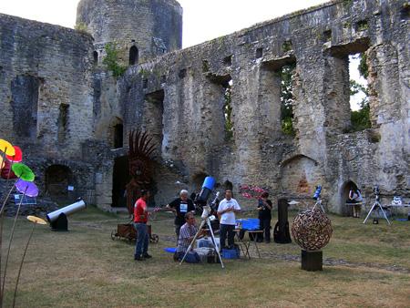Animation au Château de Villandraut le 3 août 2013 219