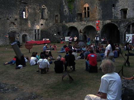Animation au Château de Villandraut le 3 août 2013 618