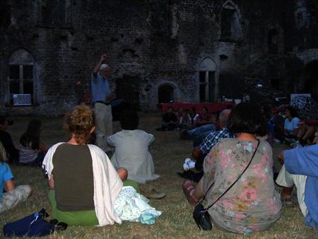 Animation au Château de Villandraut le 3 août 2013 718