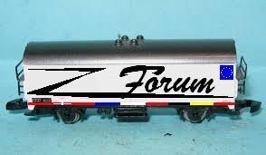 """Wagon Märklin """"Le Z-forum"""" :-) 8600a110"""