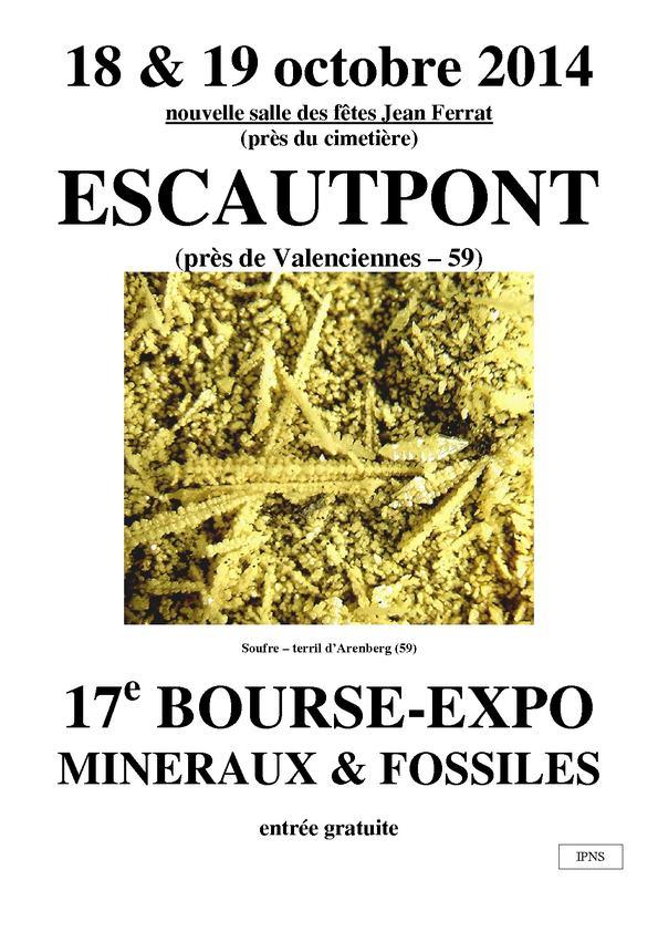 bourse M&F à Escautpont Affich11