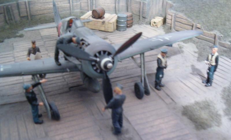 Diorama Fw 190 A8/R8 2006-015