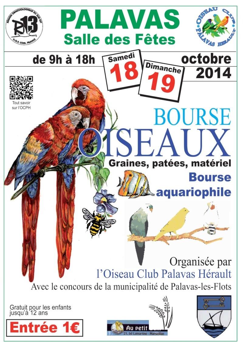 Les bourses de: l'OCPH (oiseau Club Palavas Hérault). Affich17