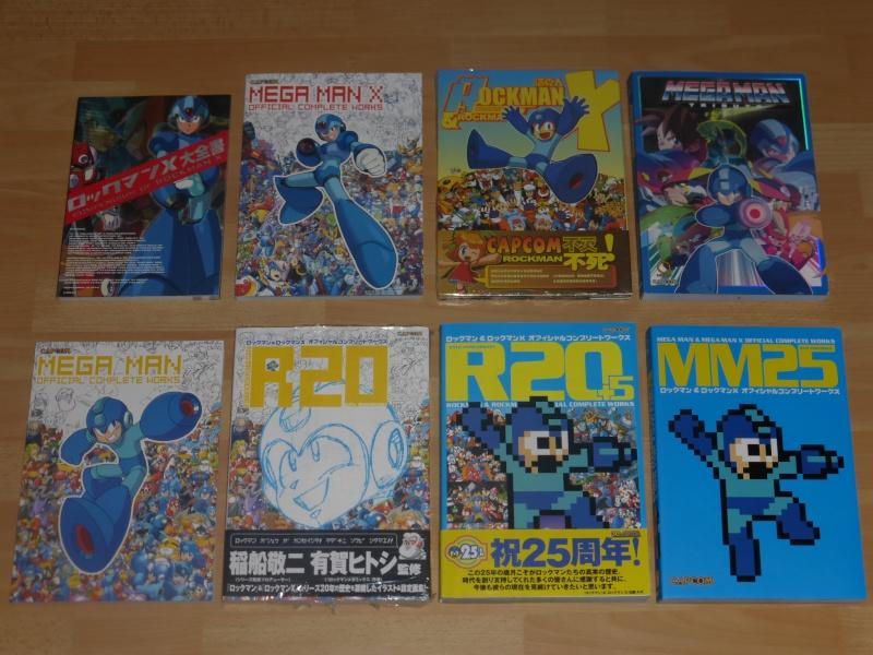 MEGAMAN +  Artbooks CAPCOM Megama10