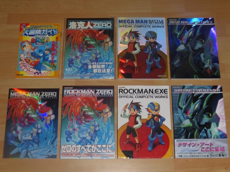 MEGAMAN +  Artbooks CAPCOM Megama11