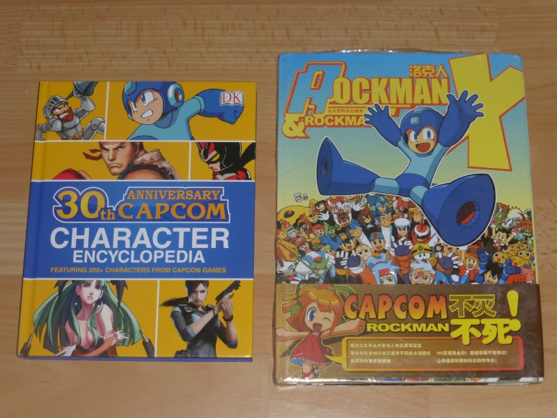 MEGAMAN +  Artbooks CAPCOM Rockma10
