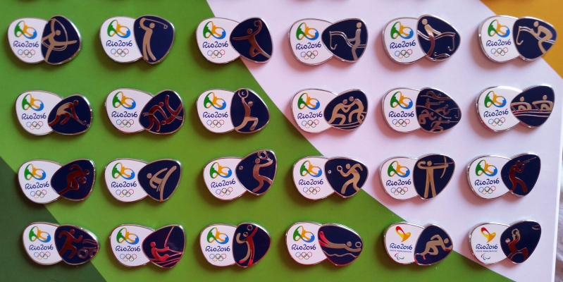 Rio 2016 - Pictograms Pins 20140513