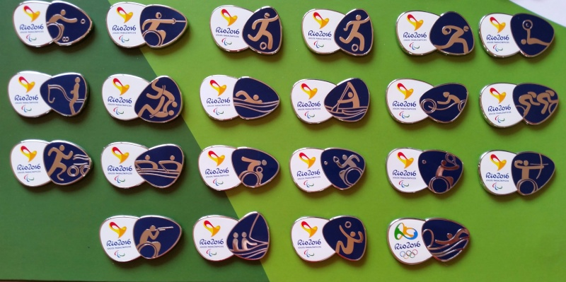 Rio 2016 - Pictograms Pins 20140514
