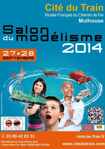 Annulation Expo de Modelisme Mulhouse 27/28 Septembre 2014 Affich10