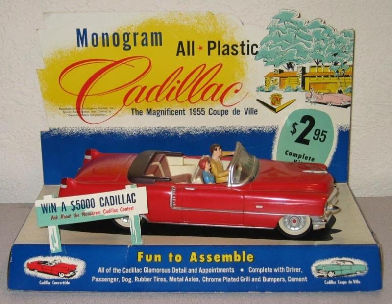 Cadillac 1955 Coupe De ville - Monogram - 1/20 scale 48817610