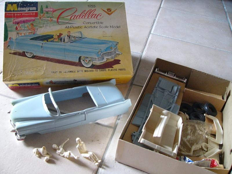 Cadillac 1955 Coupe De ville - Monogram - 1/20 scale Cadill10
