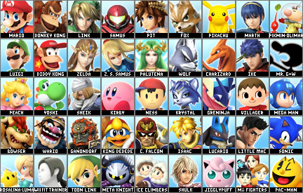 Le Super Smash Bros. Roster Maker (Version 11.0 disponible!!!) - Page 11 3ds_ro11