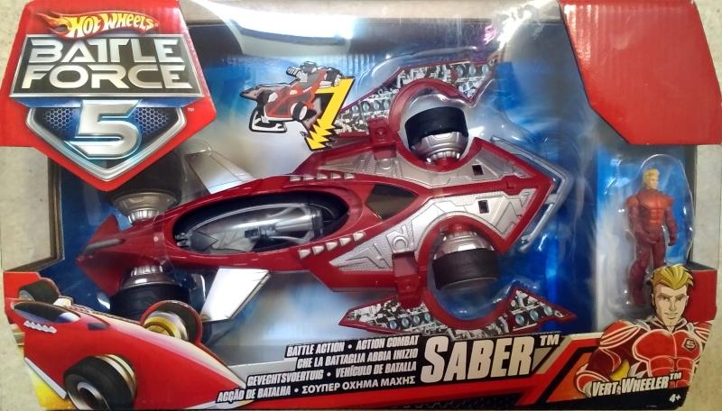Hot Wheels Battle Force 5 Saber (Flippers + MASK) P_201410