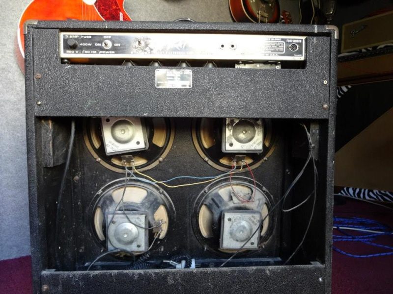 Tube Amp Deuce !!! Peavey.Série 240 T 4 hp !!!! 10616010