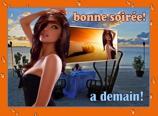 BONNE SOIRÉE DU JEUDI 31 JUILLET D7186810