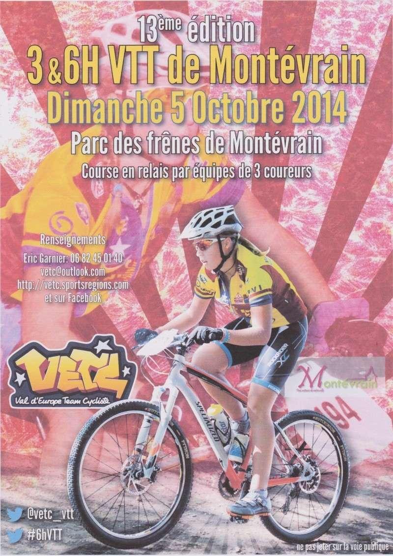 13ème édition des 3&6 Heures VTT de Montévrain 5 Octobre 14 Affich10