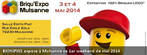 [Expo] BIONIFIGS à la Briqu'expo de Mulsanne ces 3 & 4 mai 2014 Actu_m11