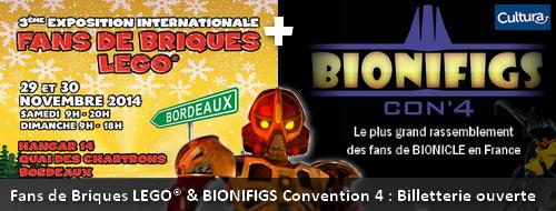 [Expo] Fans de Briques LEGO® & BIONIFIGS Convention 4 : Billetterie ouverte Actubi10