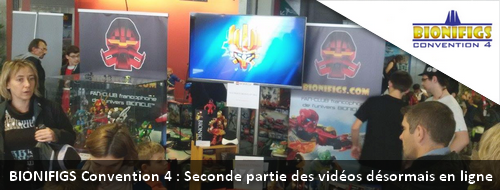 [Expo] BIONIFIGS Convention 4 : Sept nouvelles vidéos en ligne Actuco18