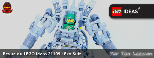 [Revue] LEGO Ideas 21109 : Exo Suit (Robot Exo) Actuex10