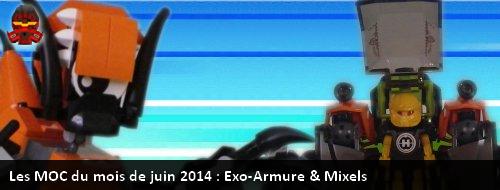 [MOC] Les MOC de juin 2014 : Exo-Armure et Mixels Mocdmj10
