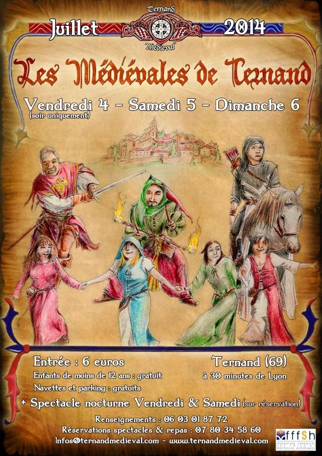 Fête médiévale de Ternand (69) - 5/6 juillet 2014 Ternan11
