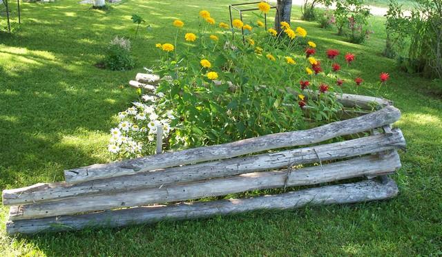 42 - La pierre, le bois, le fer... au jardin...  Le vote 10-10010