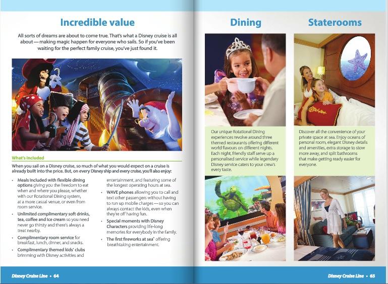 [WDW + DCL] La nouvelle brochure 2014 (Anglais) 411