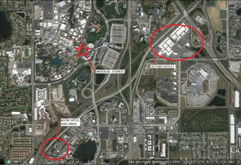 """7 États du Sud des USA - 5000 Km - 25 jours : """"De Miami à New Orleans via Atlanta"""" - Page 6 Carte10"""