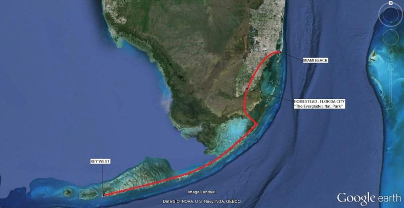 """7 États du Sud des USA - 5000 Km - 25 jours : """"De Miami à New Orleans via Atlanta"""" Route10"""
