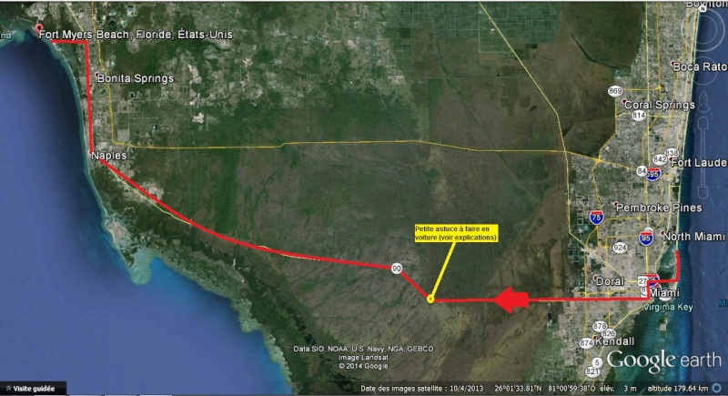 """7 États du Sud des USA - 5000 Km - 25 jours : """"De Miami à New Orleans via Atlanta"""" - Page 3 Route11"""