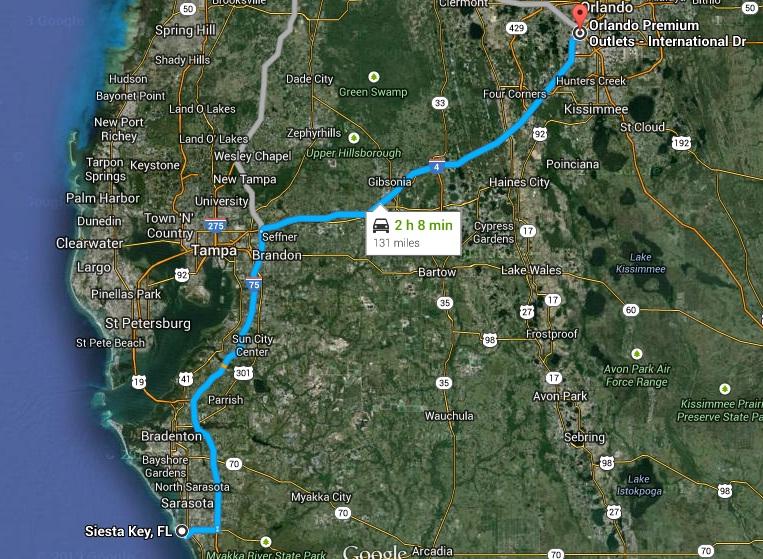 """7 États du Sud des USA - 5000 Km - 25 jours : """"De Miami à New Orleans via Atlanta"""" - Page 6 Route12"""