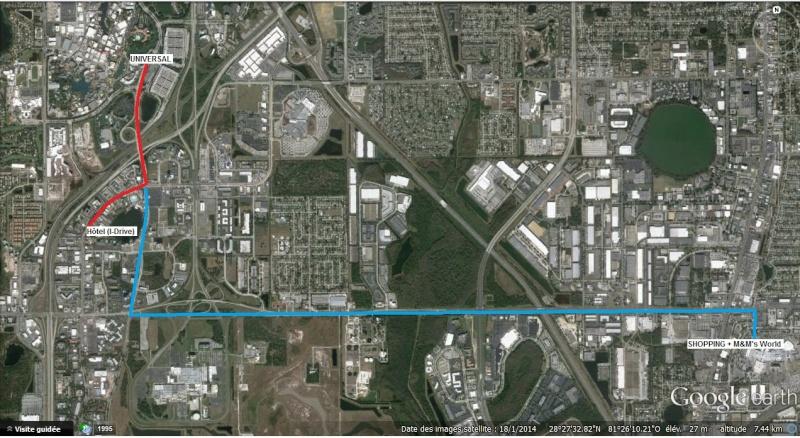 """7 États du Sud des USA - 5000 Km - 25 jours : """"De Miami à New Orleans via Atlanta"""" - Page 6 Route13"""