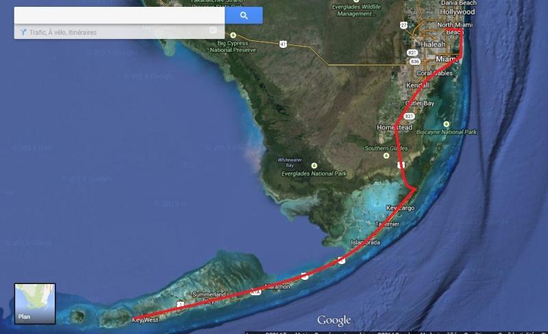 """7 États du Sud des USA - 5000 Km - 25 jours : """"De Miami à New Orleans via Atlanta"""" - Page 3 Rte10"""