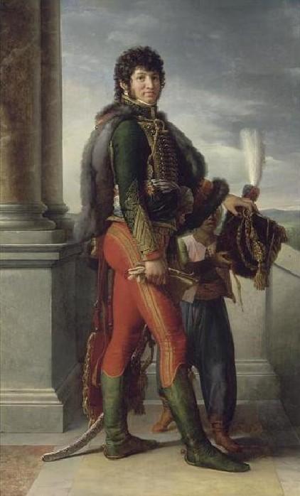 Murat d'après Gérard  ( En cours)  Portra10
