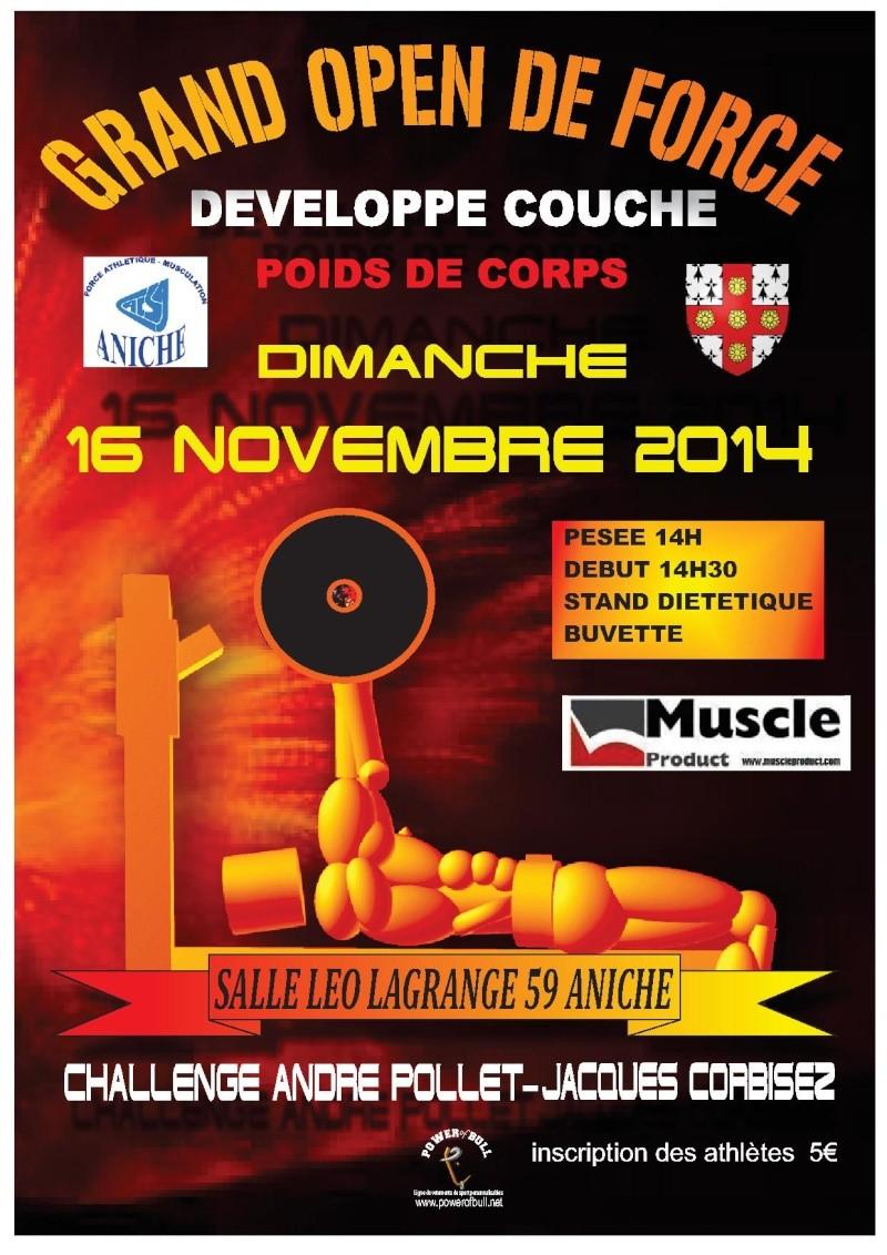Challenge André POLLET Open dev couché (pdc) Affich11