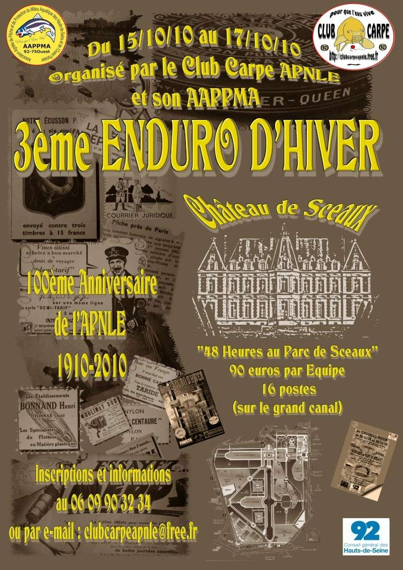 ENDURO PARC DE SCEAUX DU 15 AU 17 OCTOBRE 2010 Sceaux10