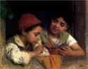 Petit, petit deviendra grand. L'enfance dans la peinture. Luigi_10