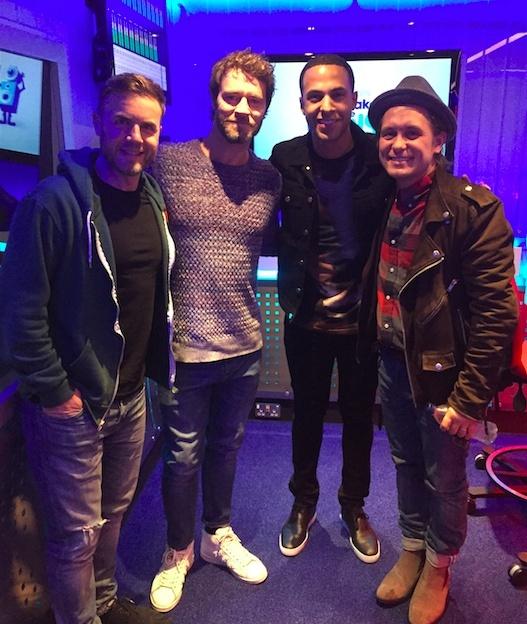 Take That à BBC radio 2, 10/10/2014 Ttradi10