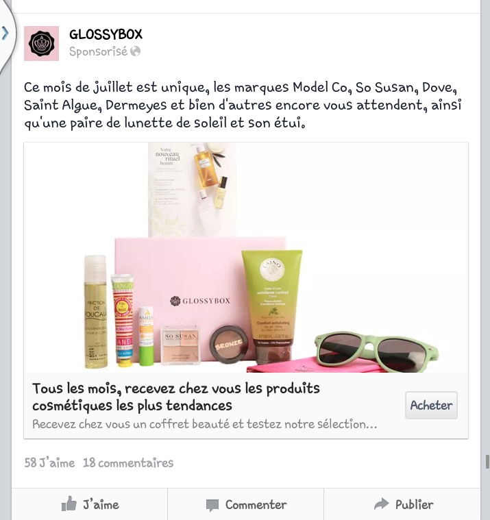 [Juillet 2014] Glossybox 2014-011