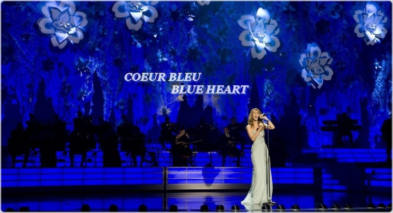CELINE DION : COEUR BLEU / BLUE HEART