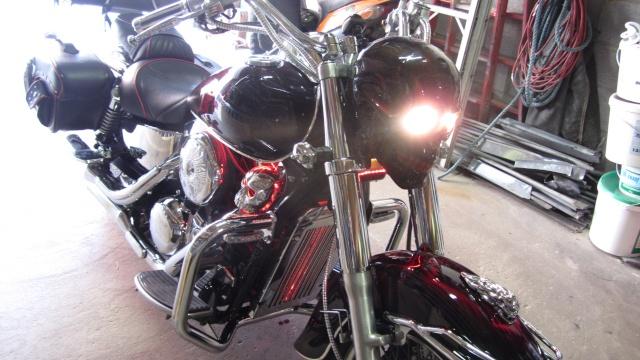 900 VN - j ai eclairé le moteur de mon vn 900 Skull10