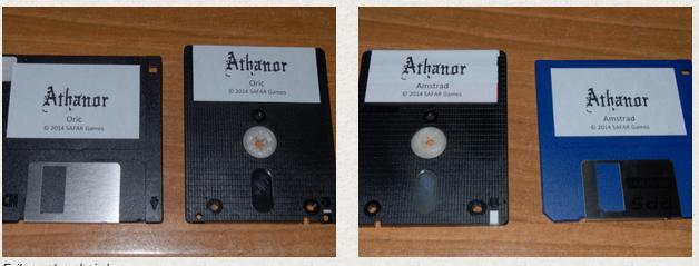 ATHANOR EST DISPONIBLE sur Amstrad et ORIC ! Athano10