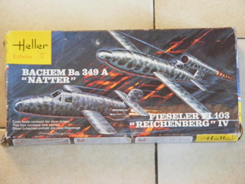 BACHEM Ba 349A NATTER & FIESELER Fi 103 REICHENBERG IV 1/72ème Réf 071  Dscf9444