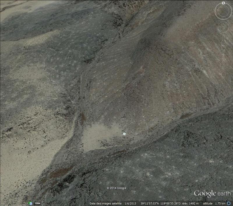 Une construction en plein désert du Nevada ! Statio11