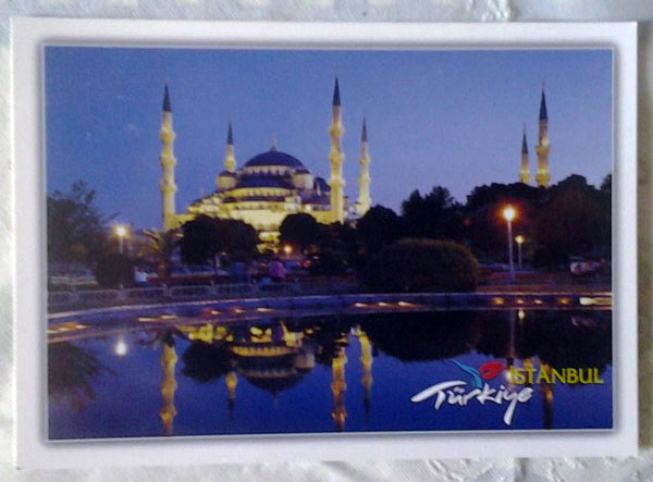 Cartes postales Turquie (Istanbul) 311