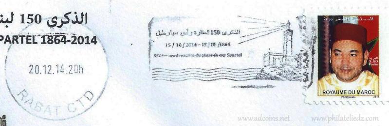 Maroc :Nouvelles flammes postales Capspa10